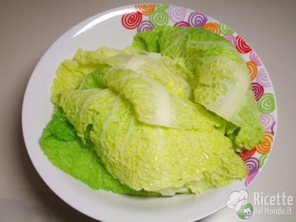 Involtini verza, salsiccia e provola 4
