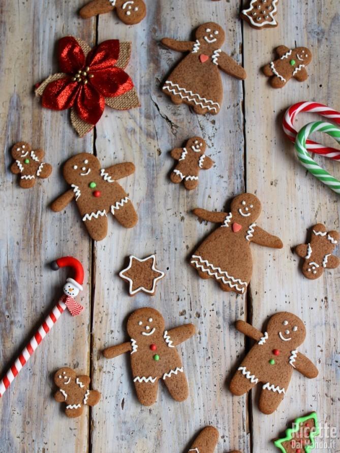 Come fare i Biscotti pan di zenzero - gingerbread man