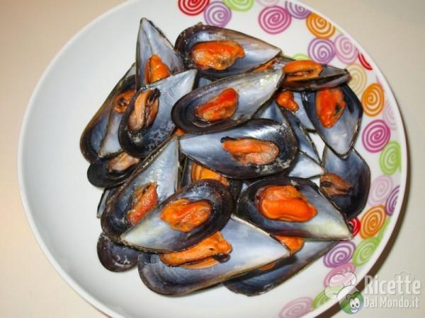 Cozze in salsa di zafferano 3