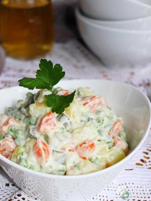 Come fare l'insalata russa