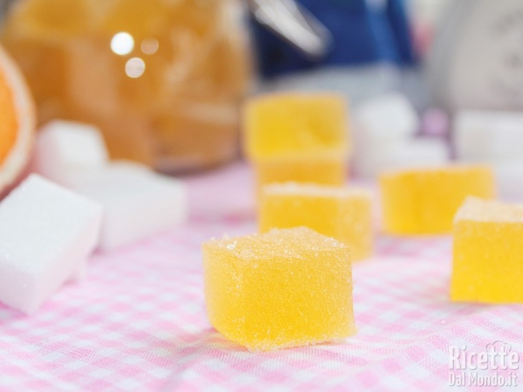 Ricetta per le caramelle gelèe
