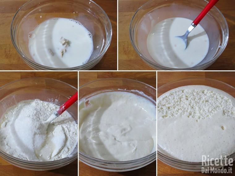 Preparare i lievitino