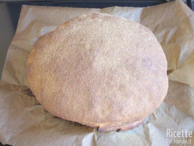 Pane cafone con lievito madre 11