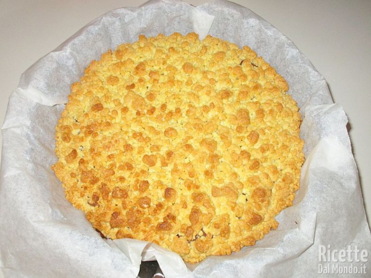 Torta sbriciolata Bimby 9