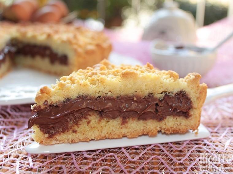 Sbriciolata alla nutella bimby for Ricette dolci bimby