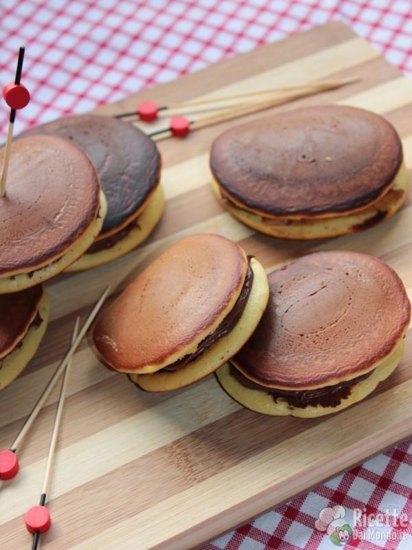 Come fare i dorayaki alla Nutella