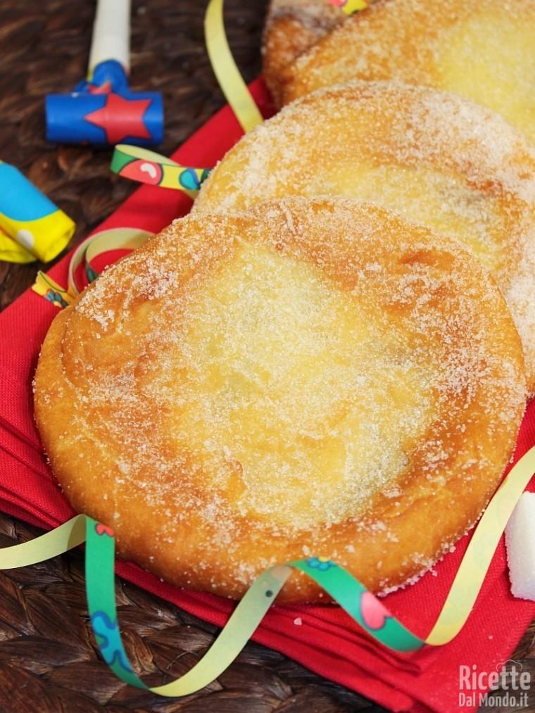 Ricette frittelle Luna Park di Carnevale