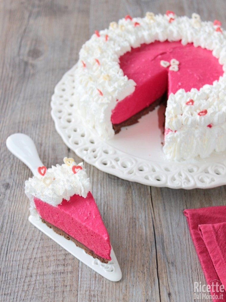 Come fare la red velvet cheesecake