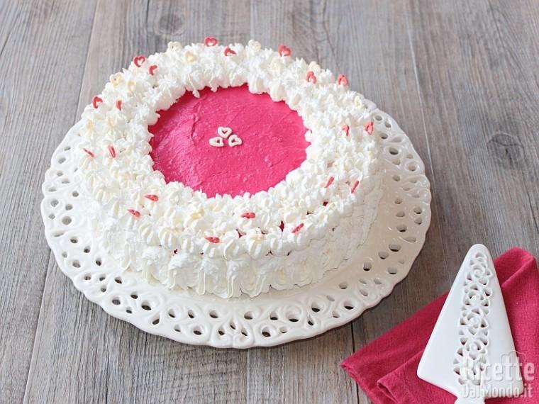 Ricetta red velvet cheesecake