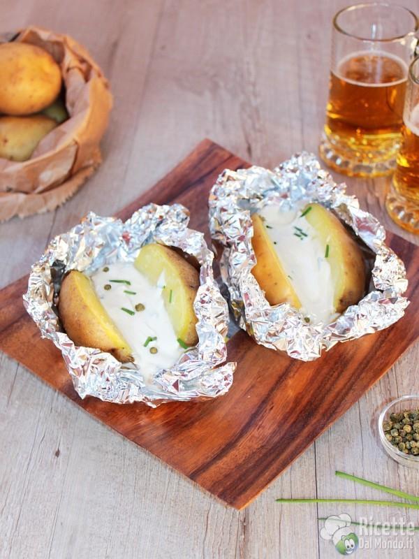 Come fare le patate al cartoccio bavaresi