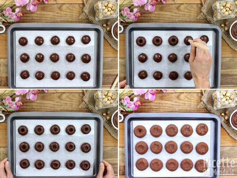 Biscotti alla Nutella 5