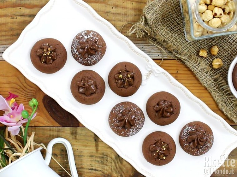 Ricetta Nutellotti, biscotti alla Nutella