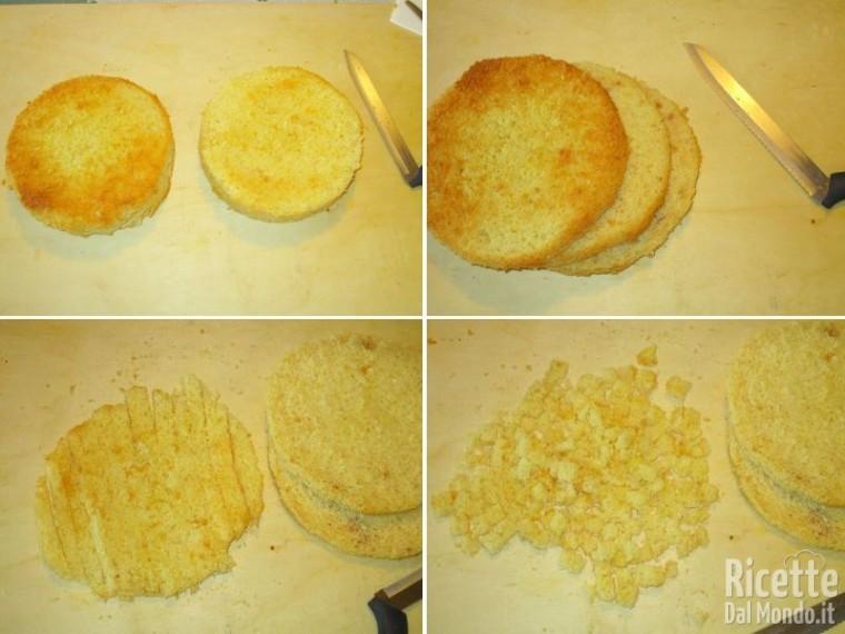 Torta mimosa Bimby 4