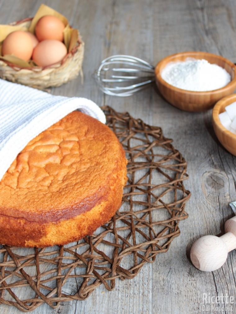 Come fare il pan di spagna Bimby - Ricetta pan di spagna Bimby
