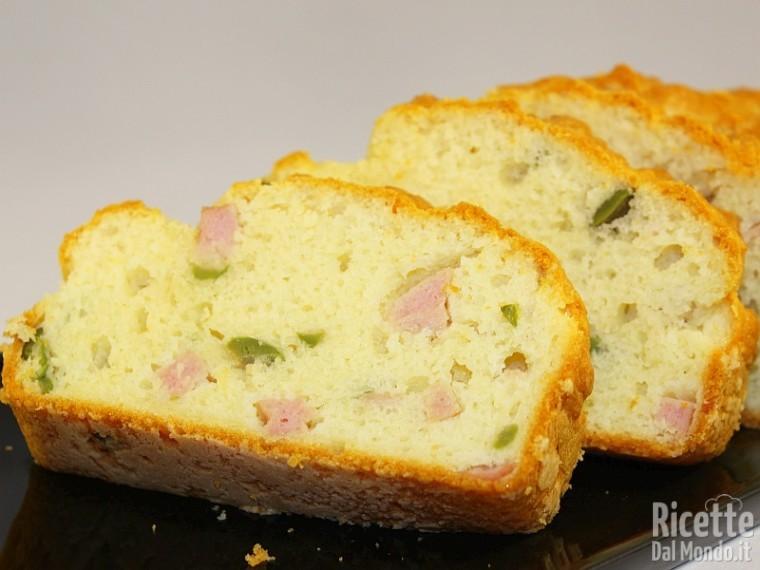 Ricetta plumcake salato Bimby