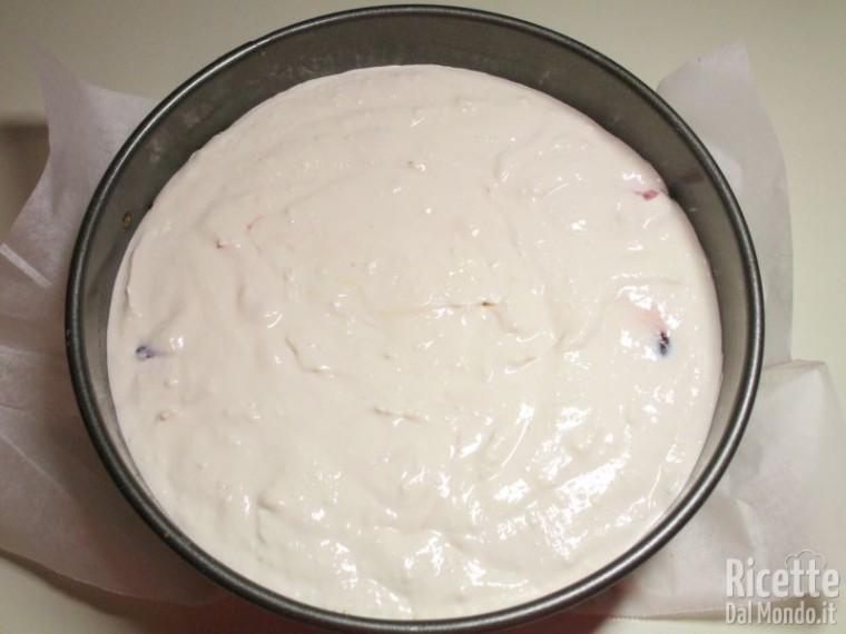 Cheesecake ricotta e amarene 6