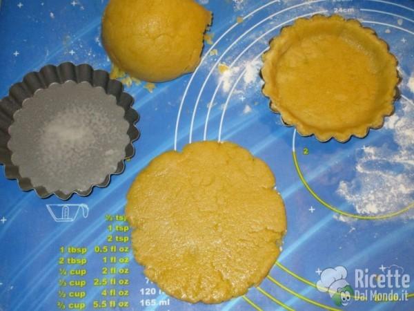 Crostatine alla crema Bimby 4