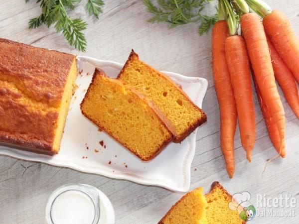 Come fare il plumcake soffice alle carote
