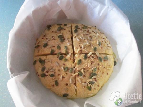 Pane senza lievito 8
