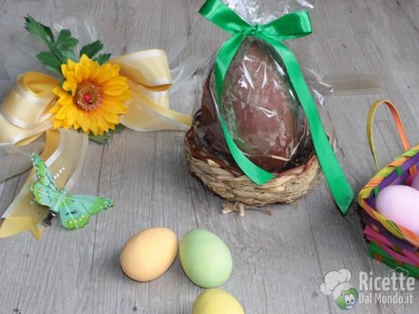 Ricetta uovo di Pasqua nocciolato fatto in casa