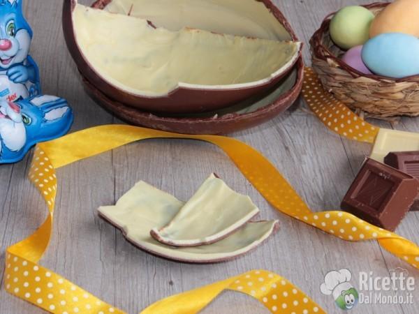 Ricetta uovo kinder fatto in casa