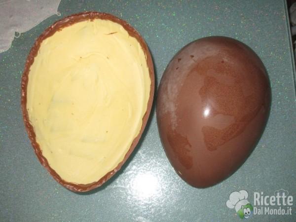 Uovo kinder fatto in casa 17