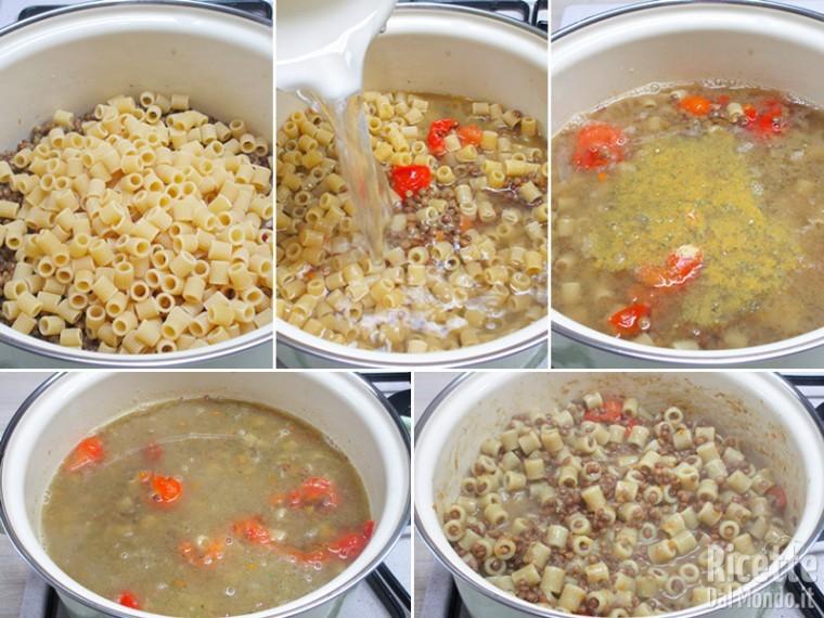 pasta con le lenticchie 3 pasta e lenticchie 4