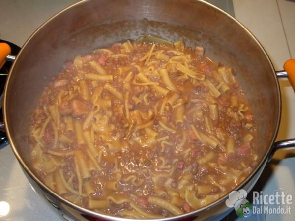 pasta e lenticchie 8 pasta con le lenticchie 9