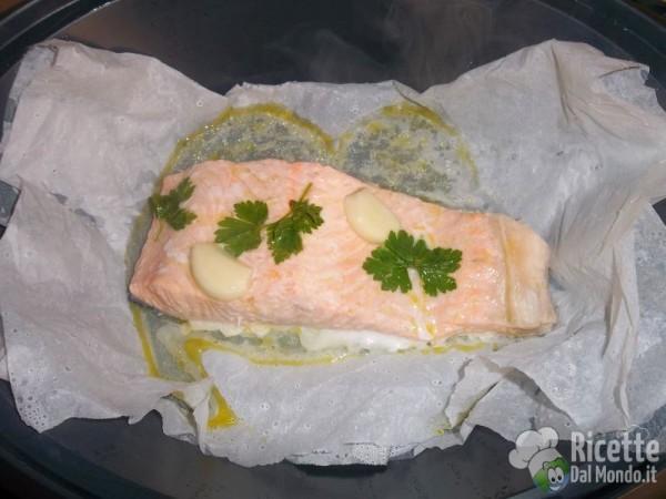 Salmone al vapore bimby con varoma - Ricette con forno a vapore ...