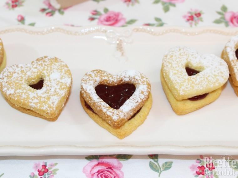Ricetta biscotti di frolla con marmellata