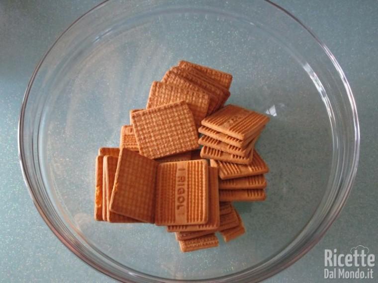 Salame al cioccolato senza uova 2