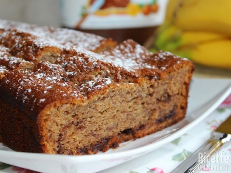 Ricetta banana e Nutella cake