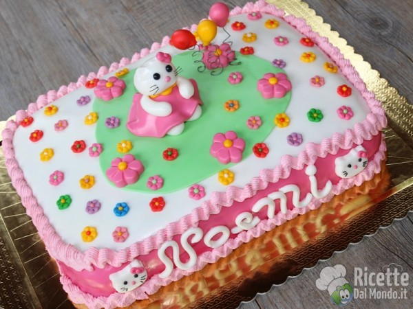 Ricetta torta di Hello Kitty