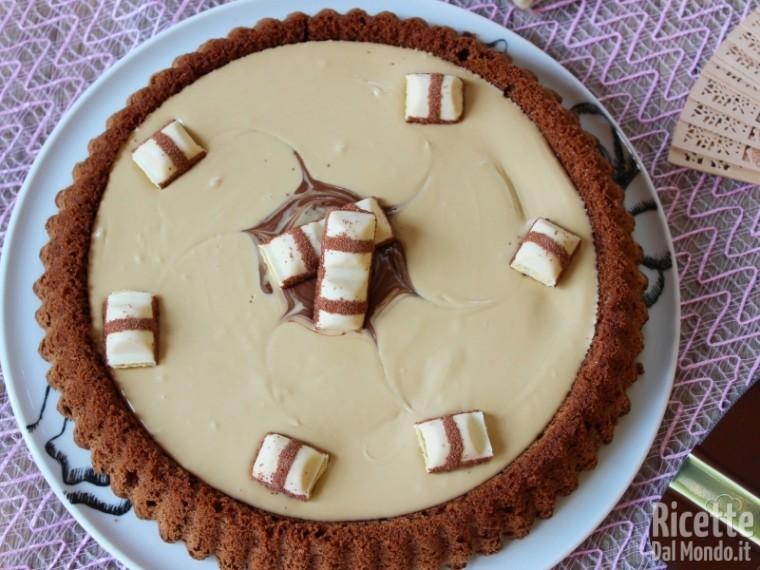 Ricetta torta kinder bueno con il bimby