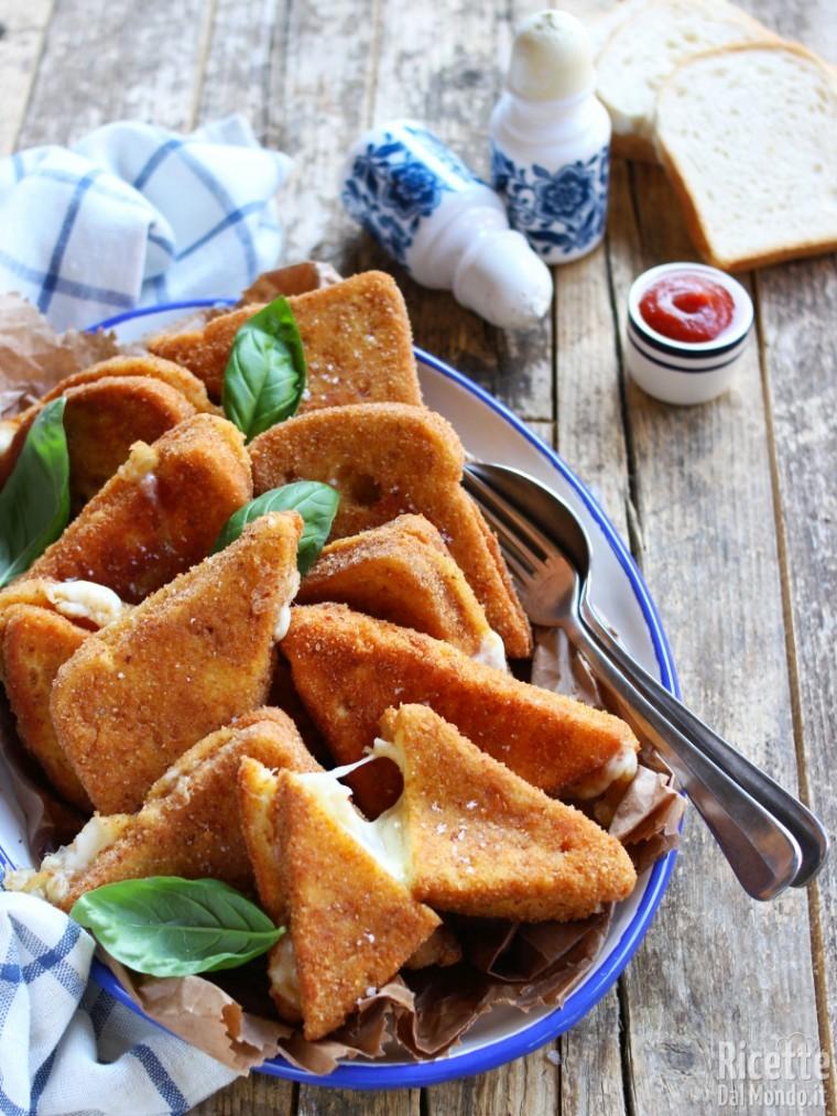 Mozzarella fritta in carrozza 6