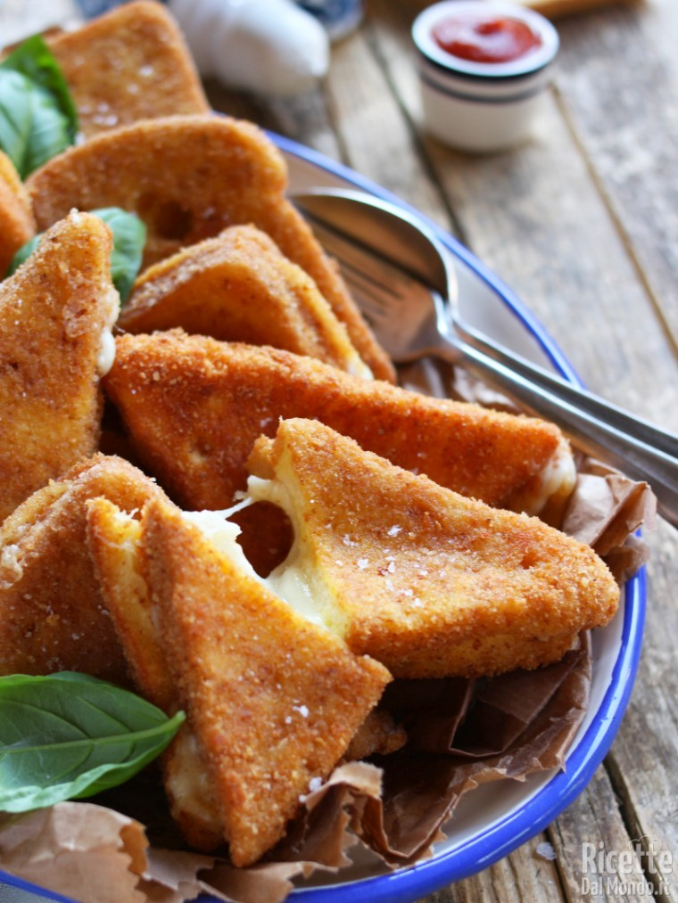 Mozzarella fritta in carrozza 7