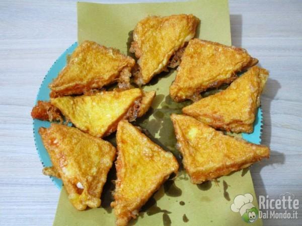 Mozzarella fritta in carrozza 8