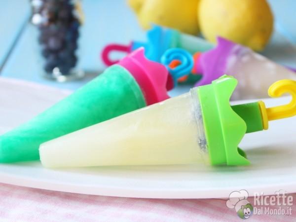 Ricetta ghiaccioli alla menta e al limone