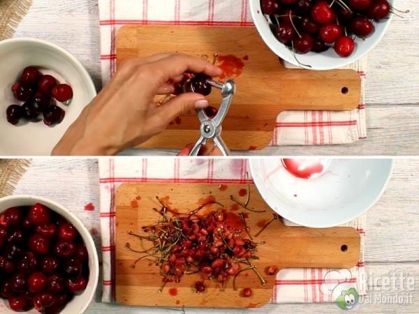 Torta soffice con le ciliegie 2