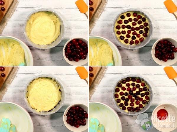 Torta soffice con le ciliegie 6