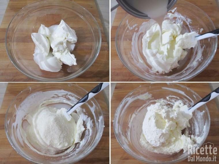 Cheesecake cocco e Nutella 4