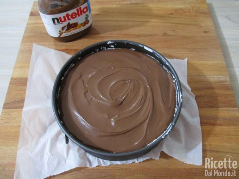 Cheesecake cocco e Nutella 6