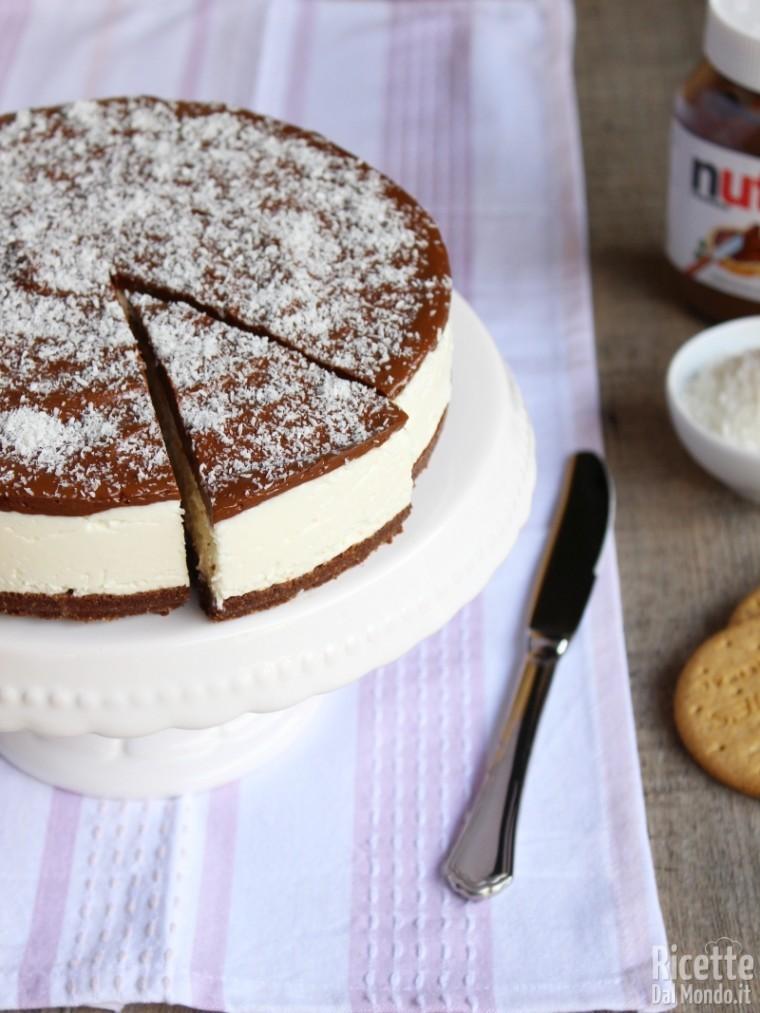Come fare la cheesecake cocco e Nutella