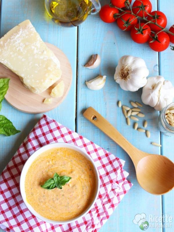 Come fare il pesto alla siciliana