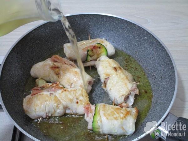 Involtini pollo e zucchine 8