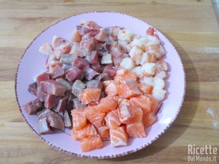 Carbonara di pesce fresco 3