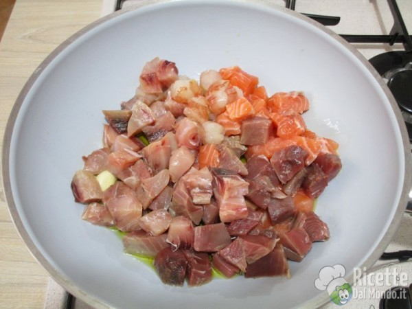 Carbonara di pesce fresco 5