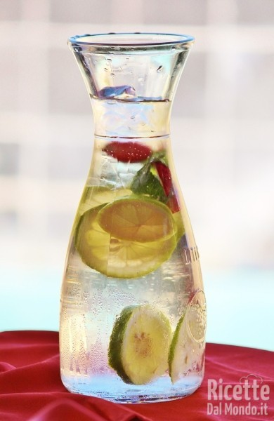 Acqua detox - acque aromatizzate