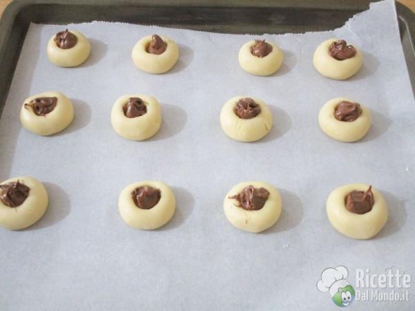 Biscotti al Philadelphia e Nutella 12