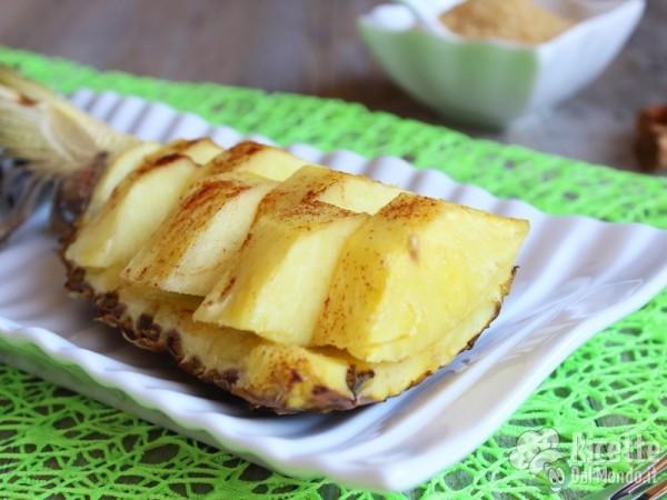 Ricetta ananas al forno